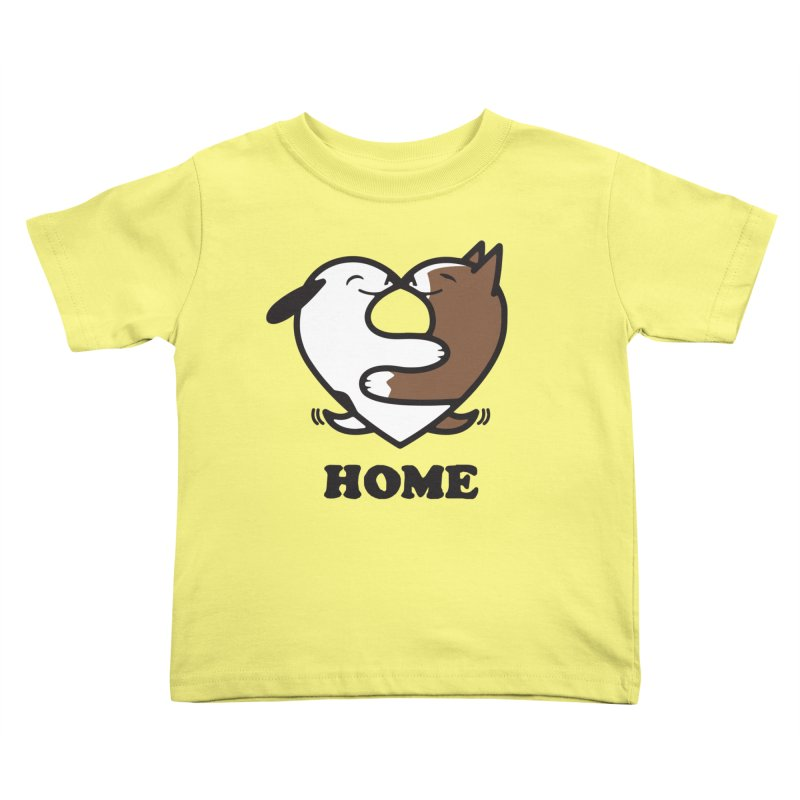 Home by Mark Kubat Kids Toddler T-Shirt by Maryland SPCA's Artist Shop