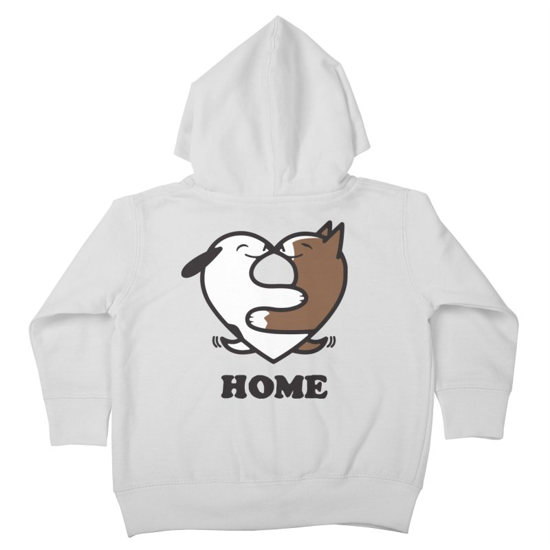 Home by Mark Kubat Kids Toddler Zip-Up Hoody by Maryland SPCA's Artist Shop