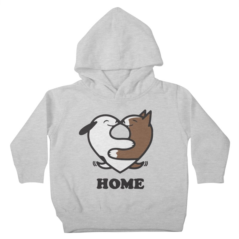 Home by Mark Kubat Kids Toddler Pullover Hoody by Maryland SPCA's Artist Shop