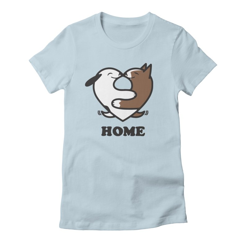 Home by Mark Kubat Women's T-Shirt by Maryland SPCA's Artist Shop