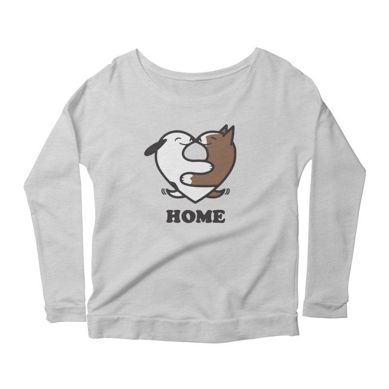 Home by Mark Kubat Women's Longsleeve T-Shirt by Maryland SPCA's Artist Shop