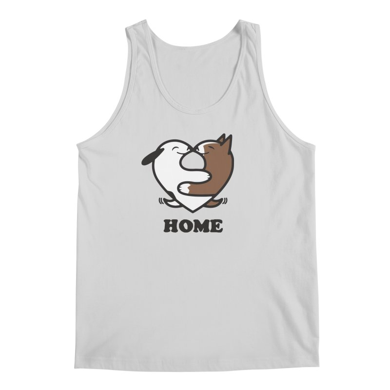 Home by Mark Kubat Men's Regular Tank by Maryland SPCA's Artist Shop