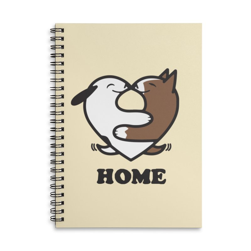Home by Mark Kubat Accessories Lined Spiral Notebook by Maryland SPCA's Artist Shop