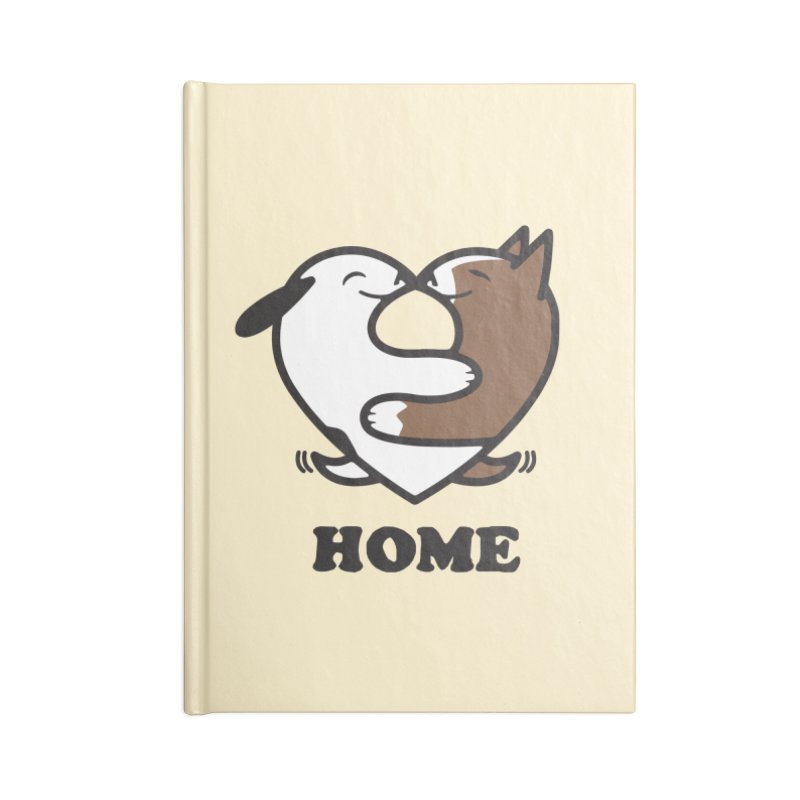 Home by Mark Kubat Accessories Lined Journal Notebook by Maryland SPCA's Artist Shop