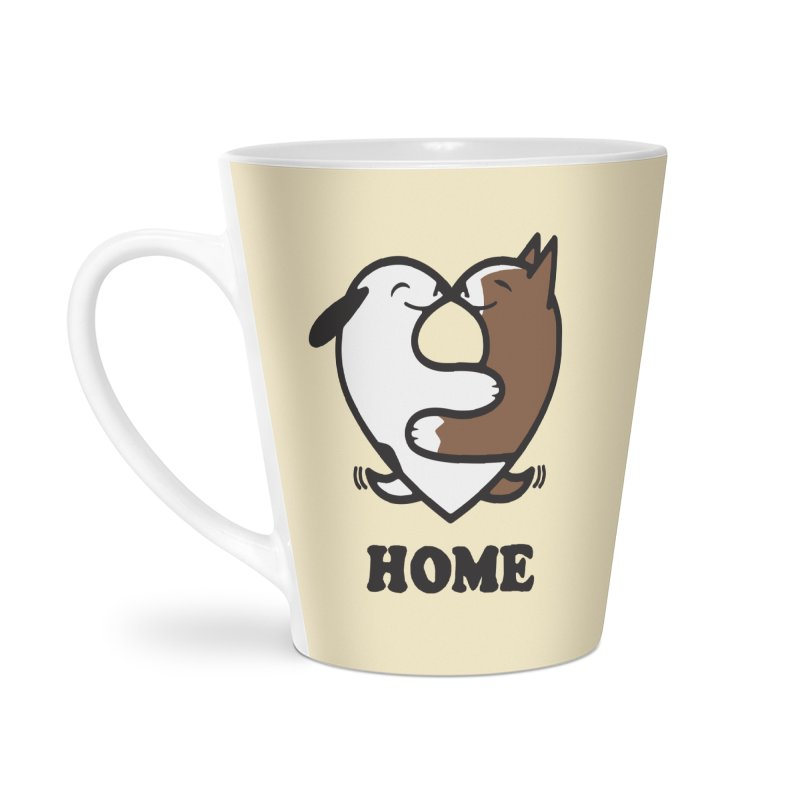Home by Mark Kubat Accessories Latte Mug by Maryland SPCA's Artist Shop
