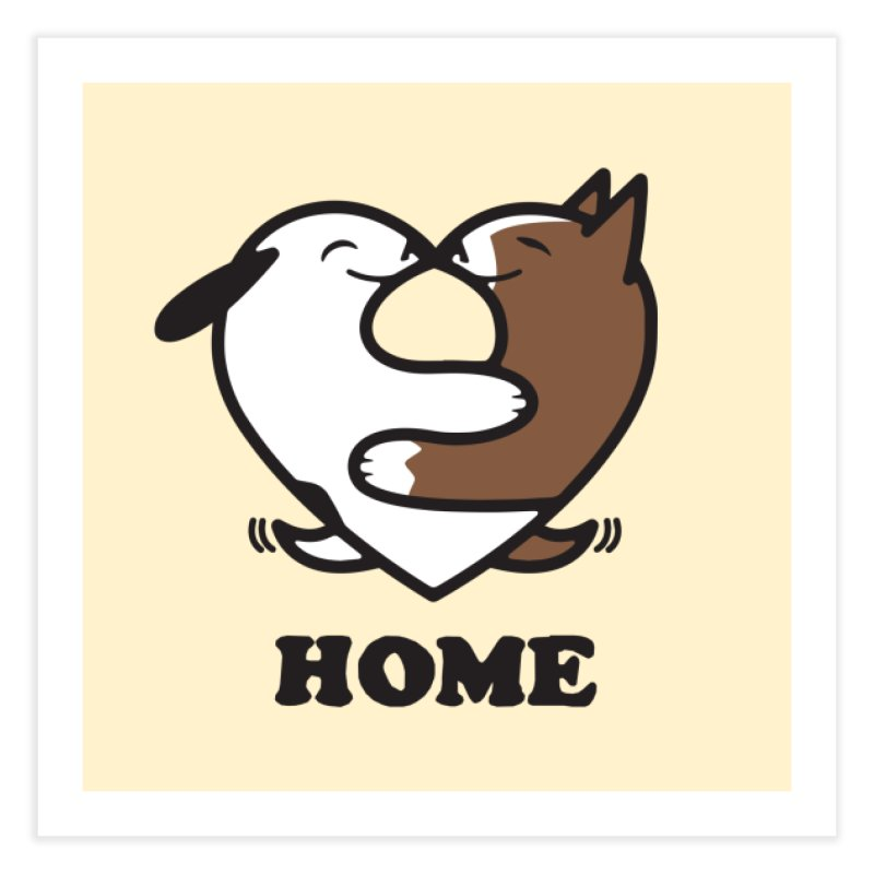 Home by Mark Kubat Home Fine Art Print by Maryland SPCA's Artist Shop