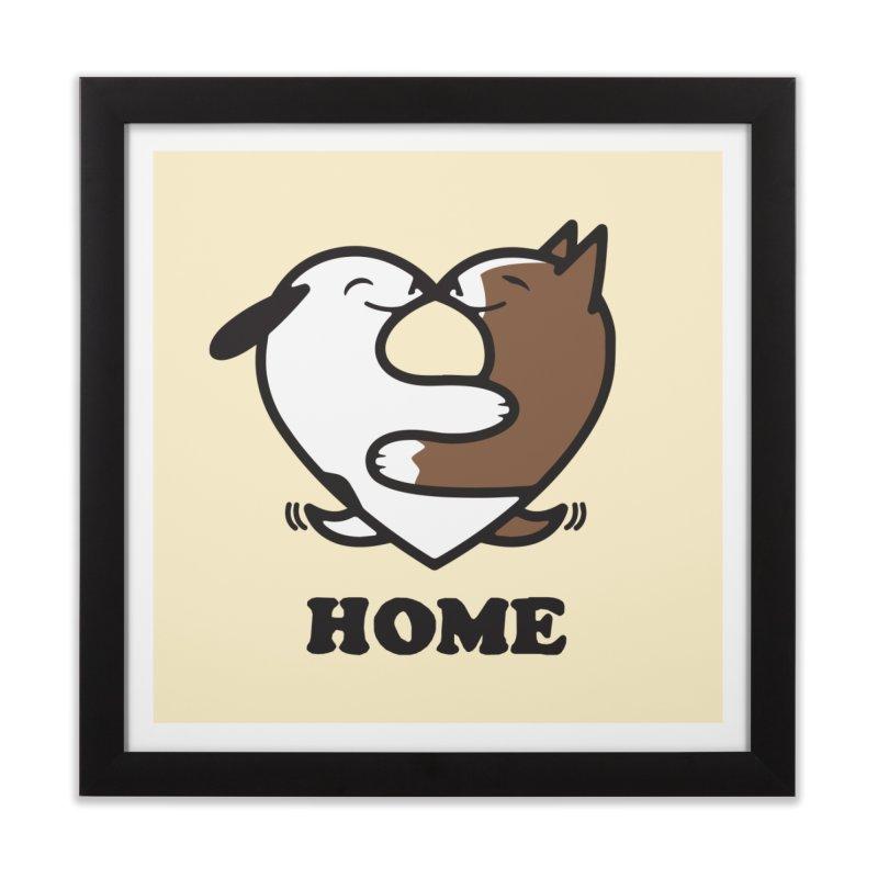 Home by Mark Kubat Home Framed Fine Art Print by Maryland SPCA's Artist Shop