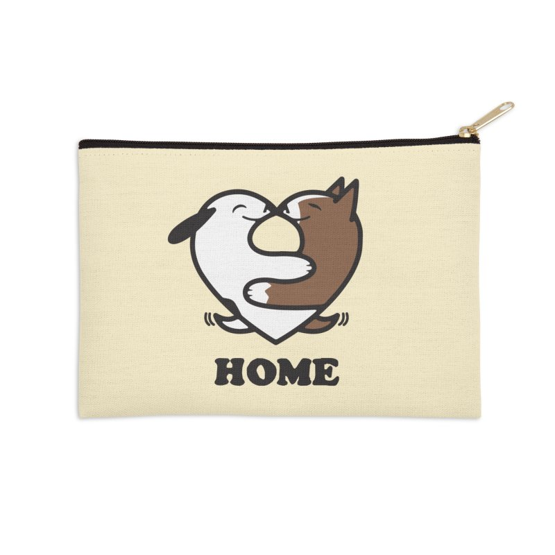 Home by Mark Kubat Accessories Zip Pouch by Maryland SPCA's Artist Shop