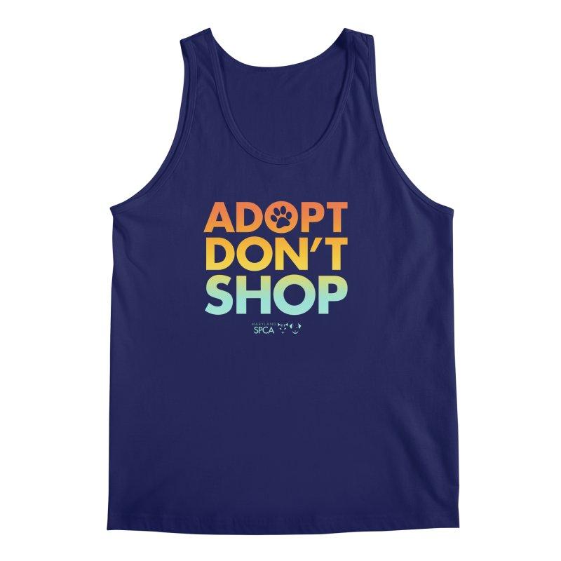 Adopt Don't Shop Men's Regular Tank by marylandspca's Artist Shop