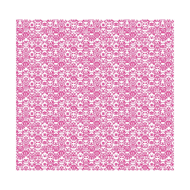 Maryland SPCA Cats & Dogs Pattern - PINK by Maryland SPCA's Artist Shop