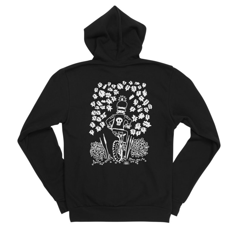 Pedal Dark Doom in Men's Sponge Fleece Zip-Up Hoody Black by maryroselytle's shop