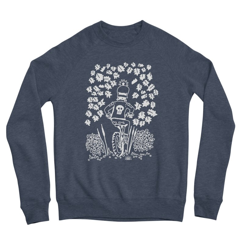 Pedal Dark Doom in Men's Sponge Fleece Sweatshirt Heather Indigo by maryroselytle's shop