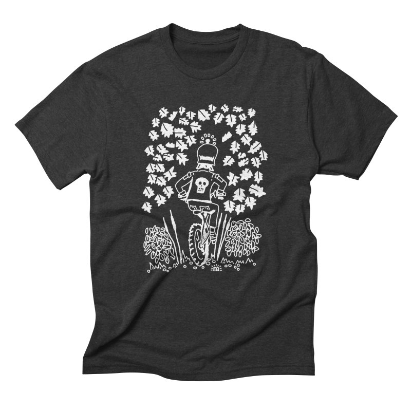 Pedal Dark Doom in Men's Triblend T-Shirt Heather Onyx by maryroselytle's shop