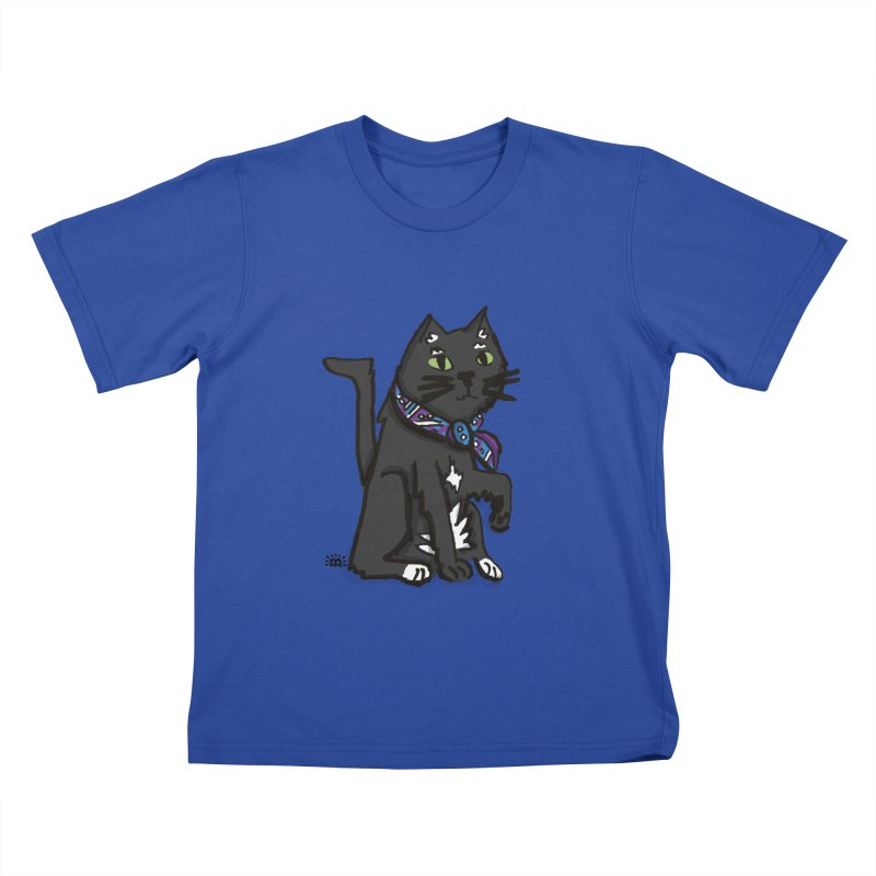 Pingu Cat Kids T-Shirt by maryroselytle's shop