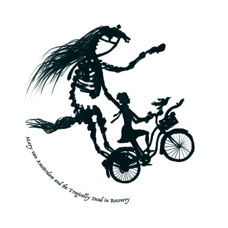 Flying Mary & the Tragically Dead in Recovery by Mary van Amsterdam's Shop