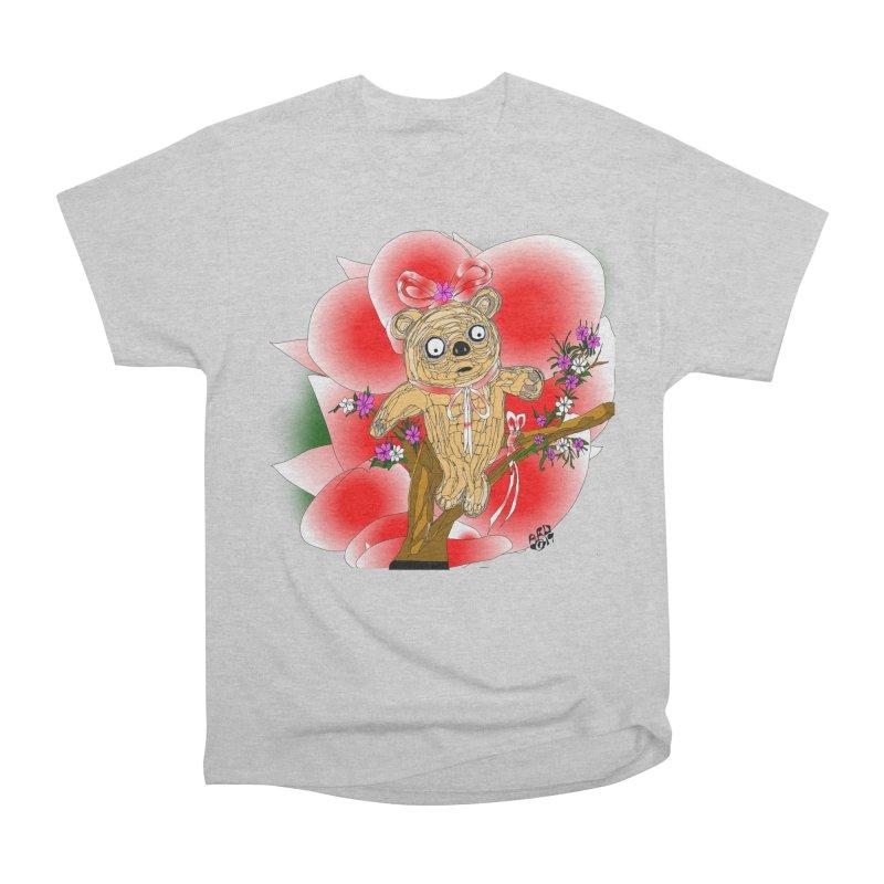Sweet Cake Bear Women's Heavyweight Unisex T-Shirt by Mashuga Moose® is on the loose.