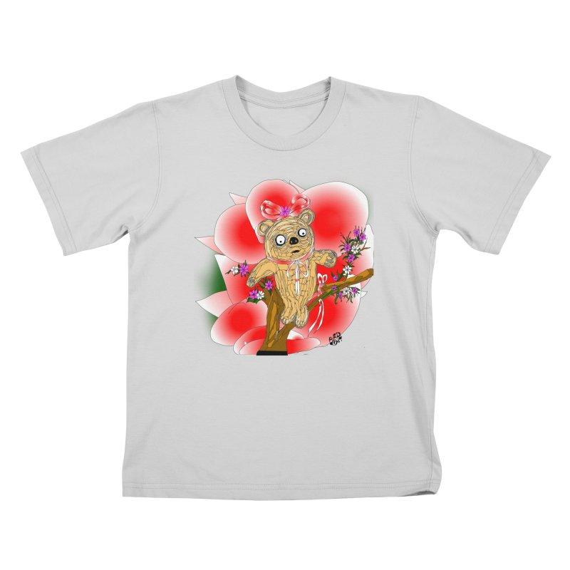 Sweet Cake Bear Kids T-Shirt by Mashuga Moose® is on the loose.