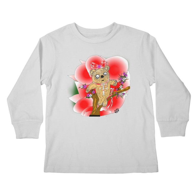 Sweet Cake Bear Kids Longsleeve T-Shirt by Mashuga Moose® is on the loose.
