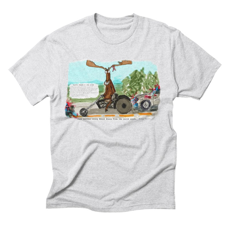 Marty takes a ride Men's Triblend T-Shirt by Mashuga Moose® is on the loose.