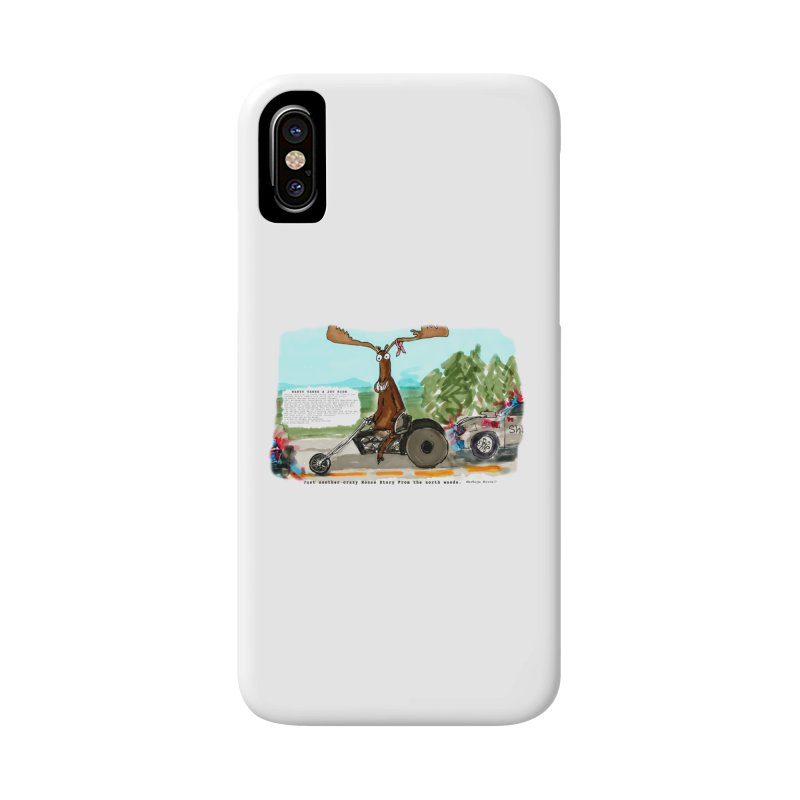 Marty takes a ride Accessories Phone Case by Mashuga Moose® is on the loose.