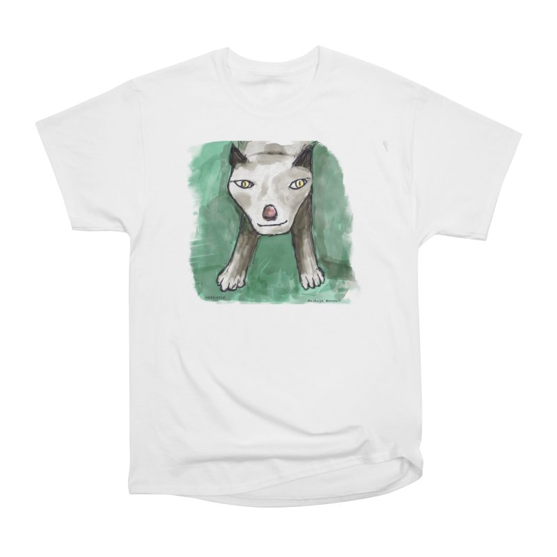MEOW! Women's Heavyweight Unisex T-Shirt by Mashuga Moose® is on the loose.