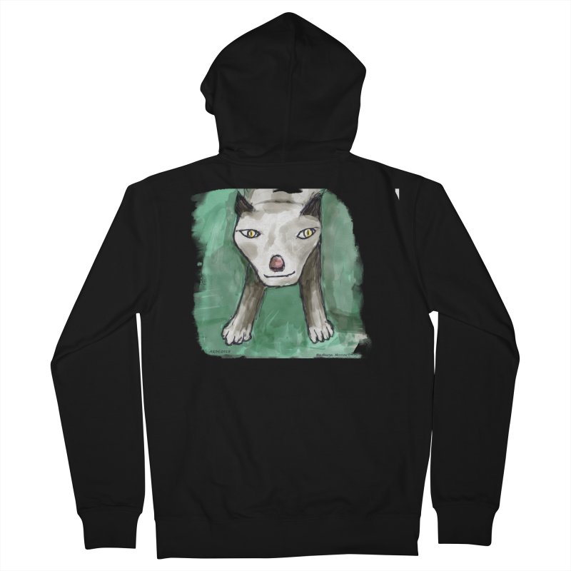MEOW! Women's French Terry Zip-Up Hoody by Mashuga Moose® is on the loose.