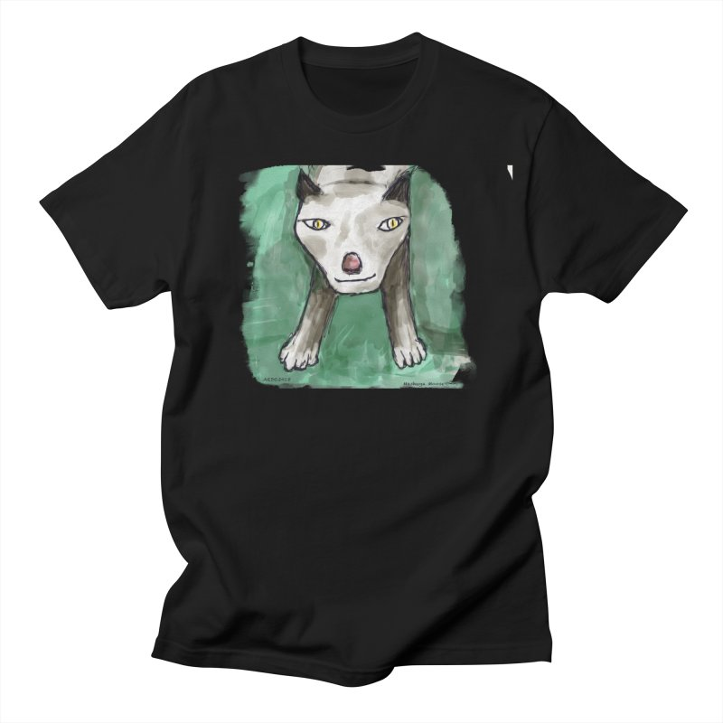 MEOW! Women's Regular Unisex T-Shirt by Mashuga Moose® is on the loose.