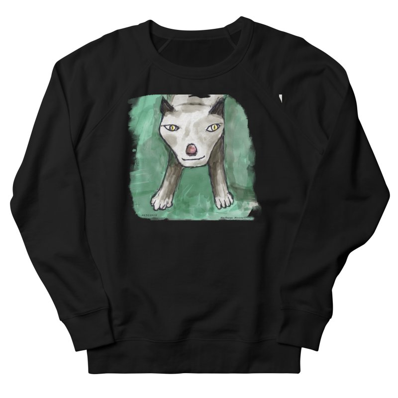 MEOW! Women's French Terry Sweatshirt by Mashuga Moose® is on the loose.