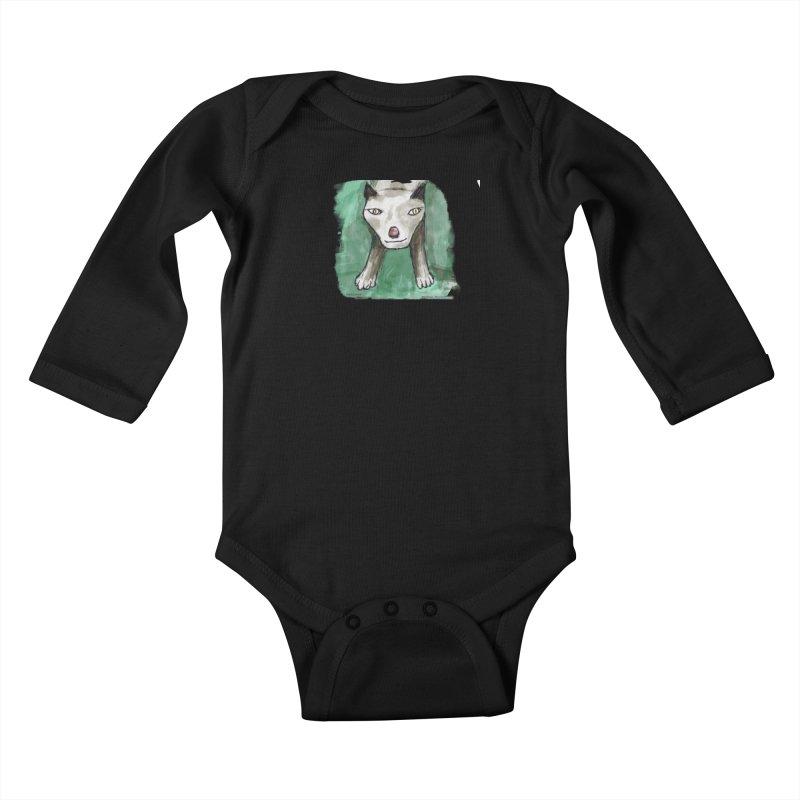 MEOW! Kids Baby Longsleeve Bodysuit by Mashuga Moose® is on the loose.