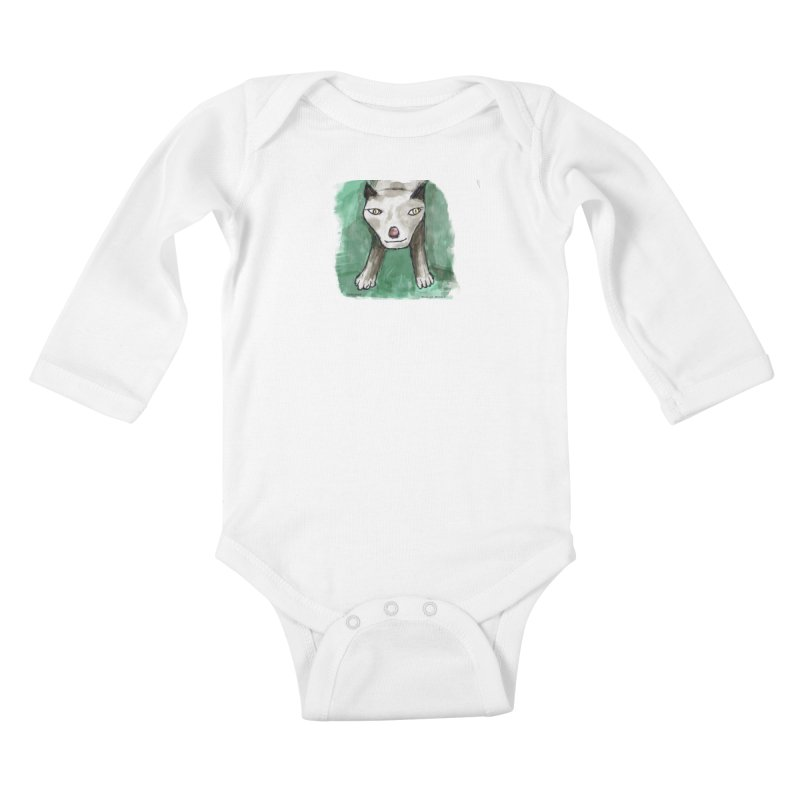 MEOW! Kids Baby Longsleeve Bodysuit by Mashuga Moose® is on the loose.