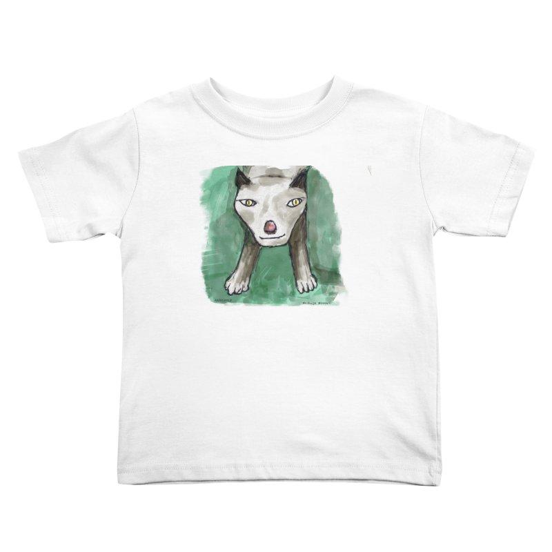 MEOW! Kids Toddler T-Shirt by Mashuga Moose® is on the loose.
