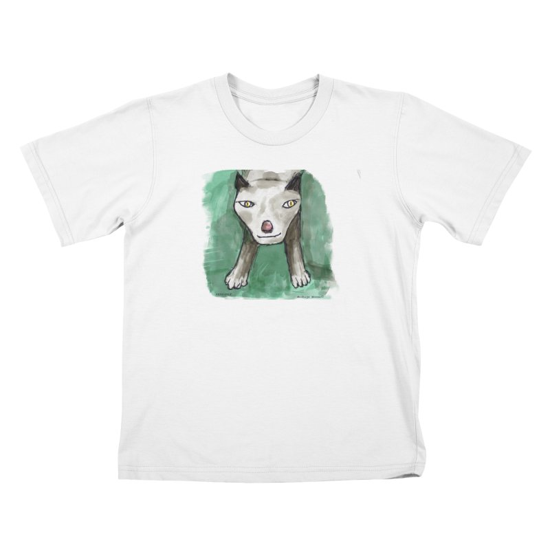 MEOW! Kids T-Shirt by Mashuga Moose® is on the loose.