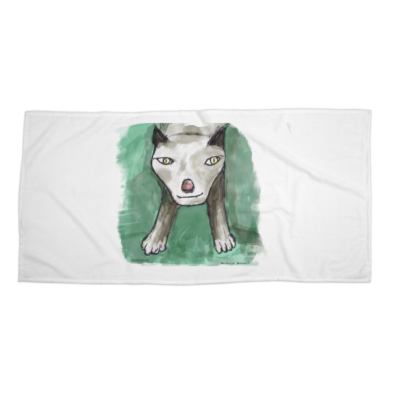 MEOW! Accessories Beach Towel by Mashuga Moose® is on the loose.