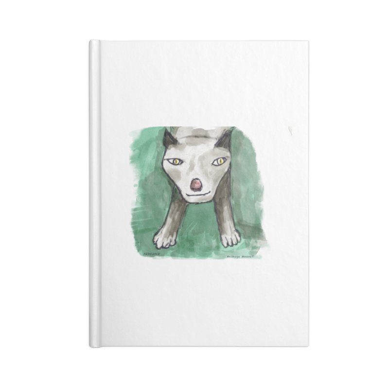 MEOW! Accessories Blank Journal Notebook by Mashuga Moose® is on the loose.