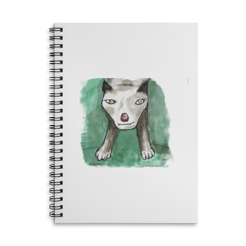 MEOW! Accessories Lined Spiral Notebook by Mashuga Moose® is on the loose.