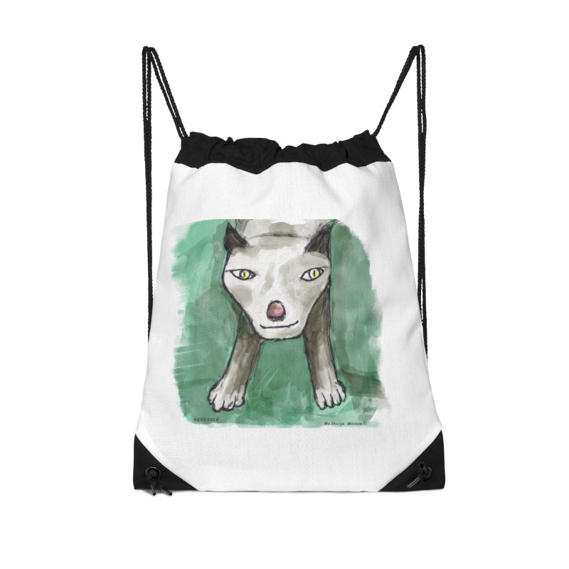 MEOW! Accessories Drawstring Bag Bag by Mashuga Moose® is on the loose.