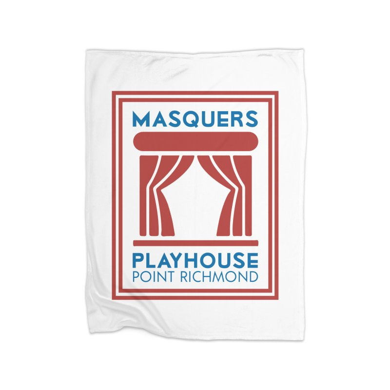 Color Logo Home Blanket by Masquers's Artist Shop