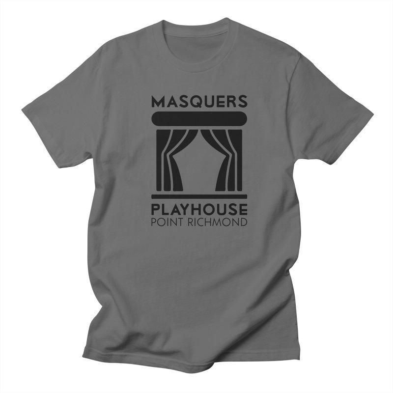 Black Logo Men's T-Shirt by Masquers's Artist Shop