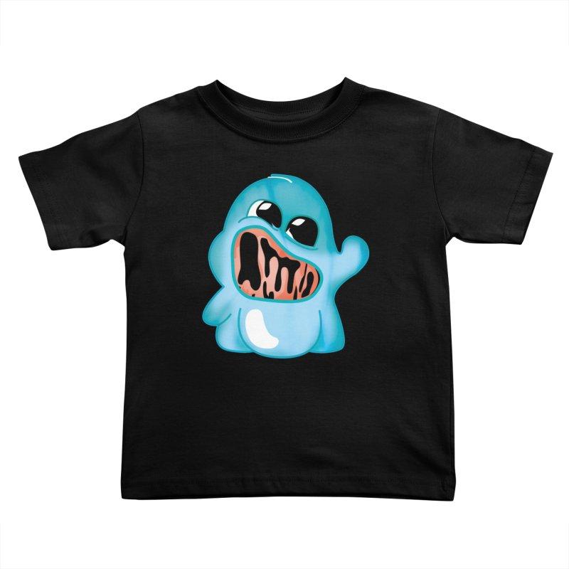 bubblegum monster Kids Toddler T-Shirt by masslos's Artist Shop