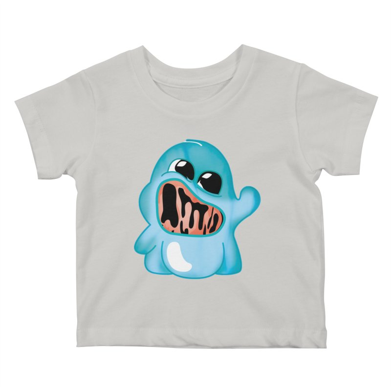 bubblegum monster Kids Baby T-Shirt by masslos's Artist Shop