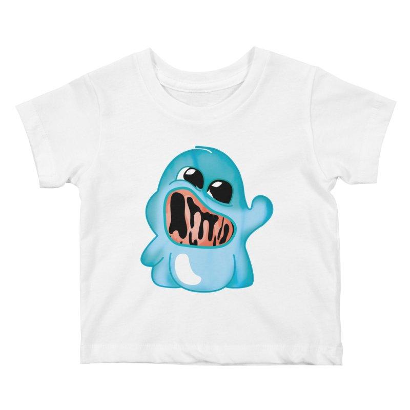 bubblegum monster Kids Baby T-Shirt by masslos's Artist Shop