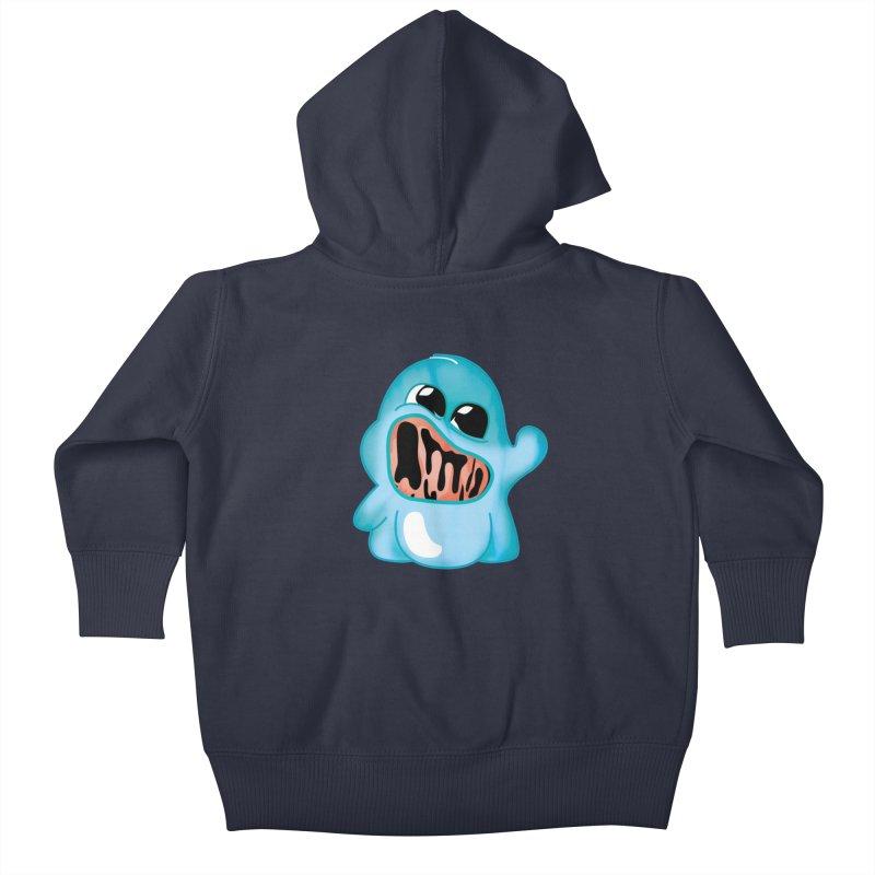 bubblegum monster Kids Baby Zip-Up Hoody by masslos's Artist Shop