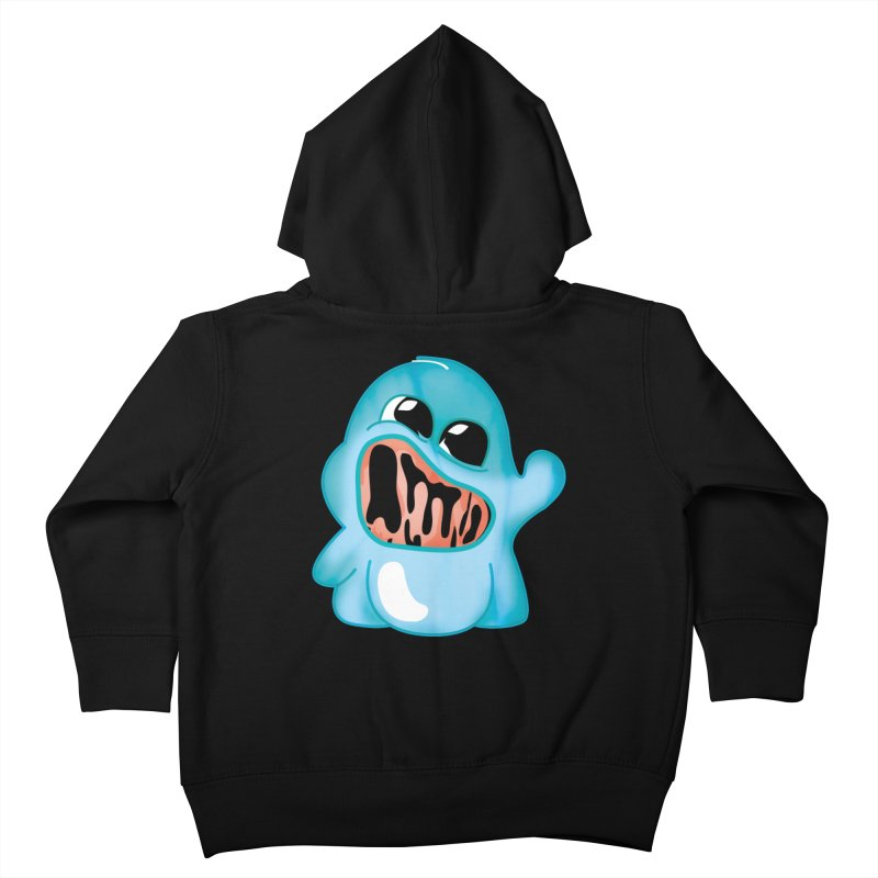 bubblegum monster Kids Toddler Zip-Up Hoody by masslos's Artist Shop