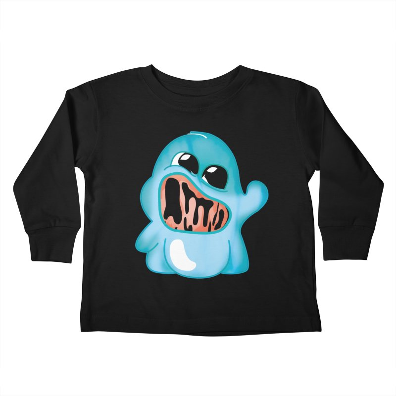 bubblegum monster Kids Toddler Longsleeve T-Shirt by masslos's Artist Shop