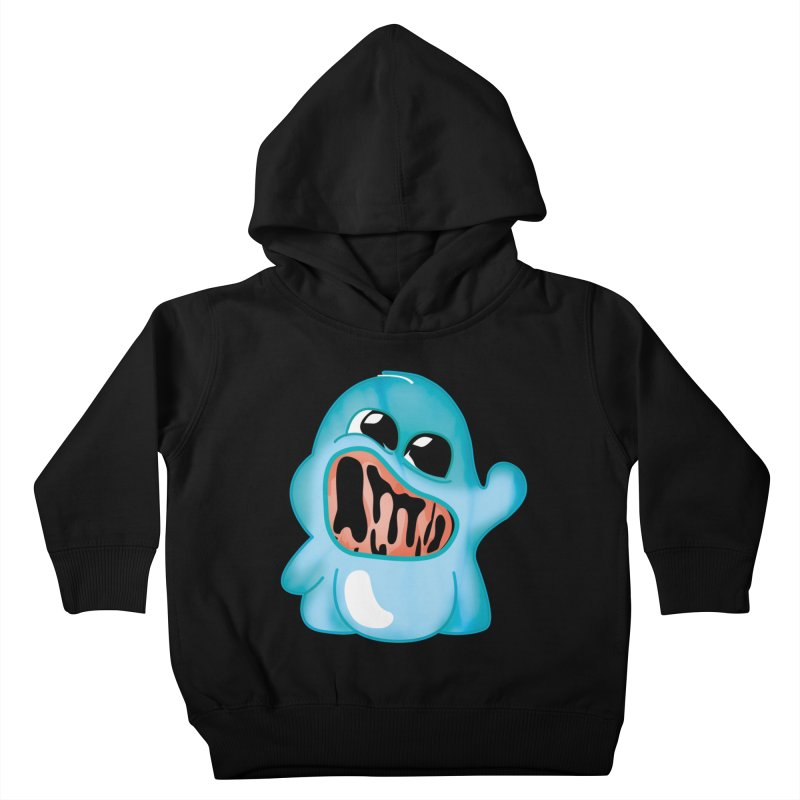 bubblegum monster Kids Toddler Pullover Hoody by masslos's Artist Shop