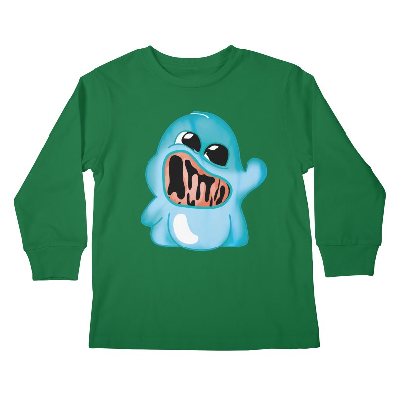 bubblegum monster Kids Longsleeve T-Shirt by masslos's Artist Shop