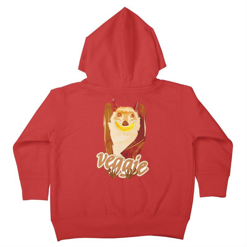 batnana Kids Toddler Zip-Up Hoody by masslos's Artist Shop
