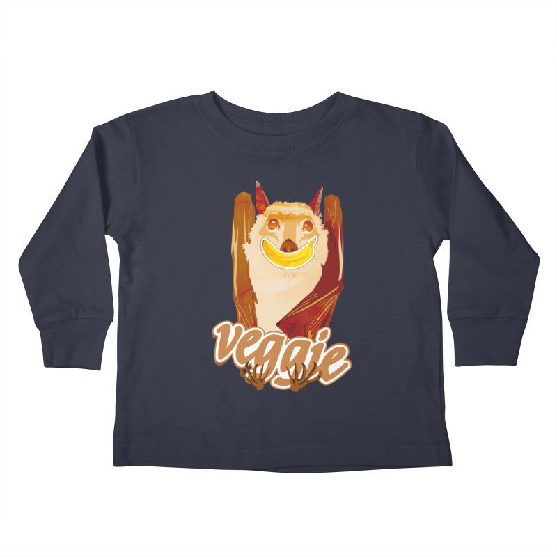 batnana Kids Toddler Longsleeve T-Shirt by masslos's Artist Shop