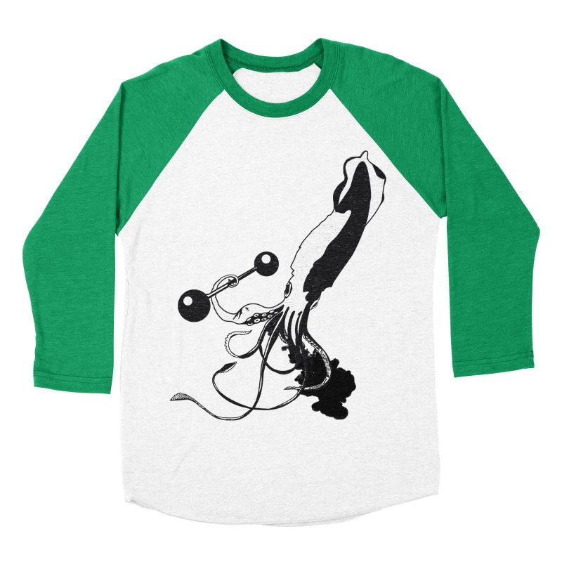 calamary Men's Baseball Triblend T-Shirt by masslos's Artist Shop