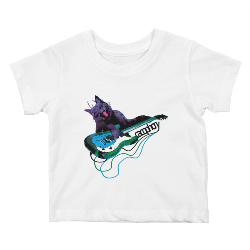 caterwauling Kids Baby T-Shirt by masslos's Artist Shop